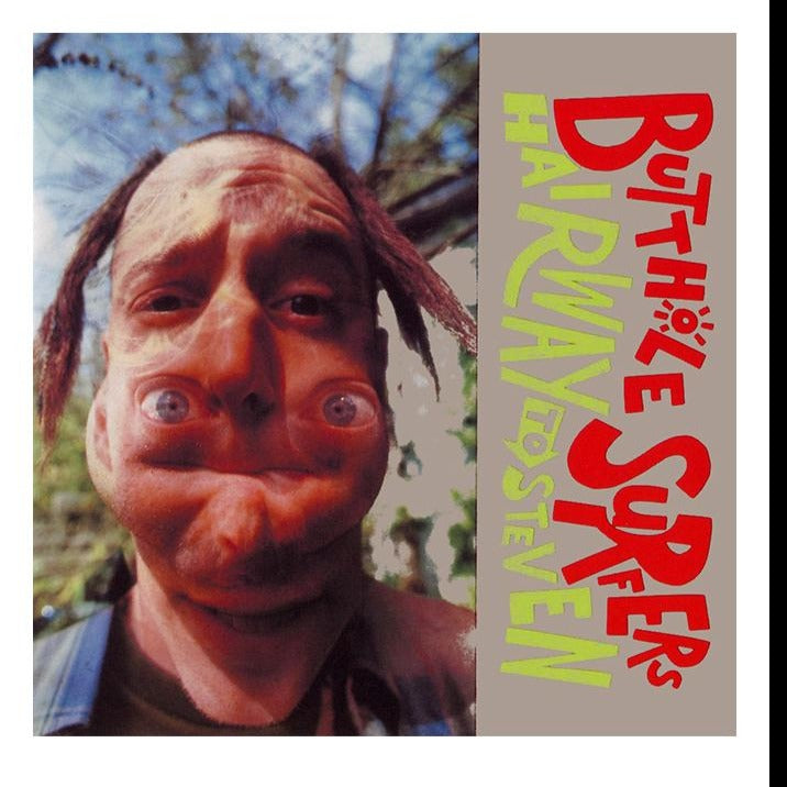 Butthole Surfers - Hairway To Steven Exclusive Limited Edition Clear Vinyl [LP_Record]