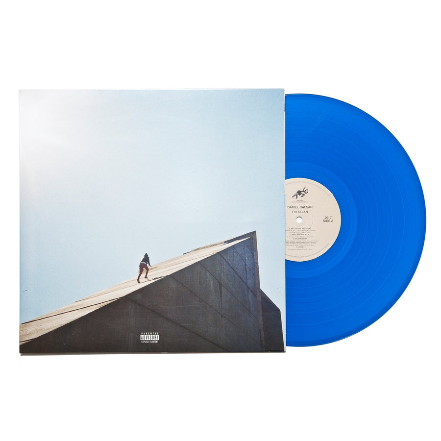 Daniel Caesar - Freudian Exclusive Blue Colored Vinyl Album LP_Record