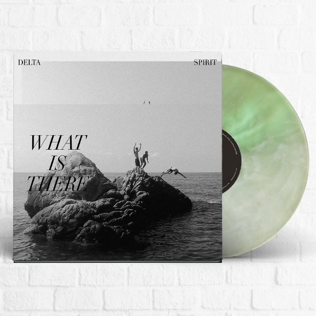 Delta Spirit - What Is There Exclusive Coke Bottle & White Vinyl LP Club Edition