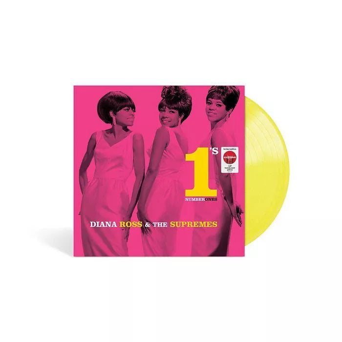 Diana Ross & The Supremes - Number 1's Exclusive Translucent Yellow Vinyl