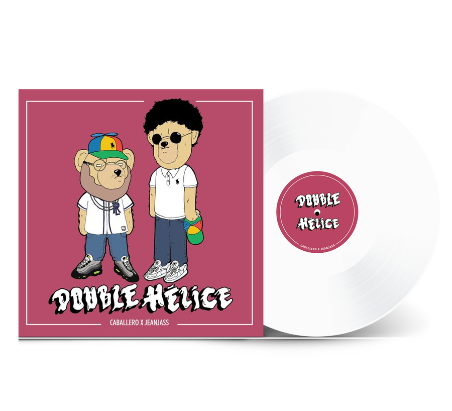 Caballero & Jeanjass - Double Hélice Exclusive White Color Vinyl Lp Limited Edition #1000 Album Record