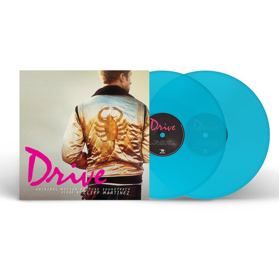 Cliff Martinez - Drive OST Exclusive Curacao Blue 2xLP Vinyl Record