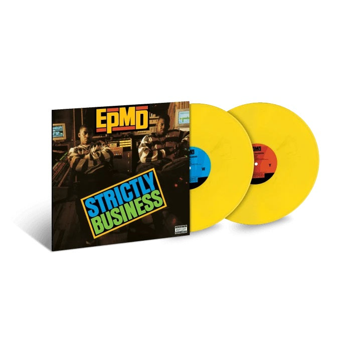 EPMD - STRICTLY BUSINESS Limited Edition, Exclusive Yellow Colored 2LP Vinyl Album