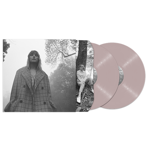 Taylor Swift - Folklore Clandestine Meetings Edition Deluxe Pink Vinyl 2LP Album