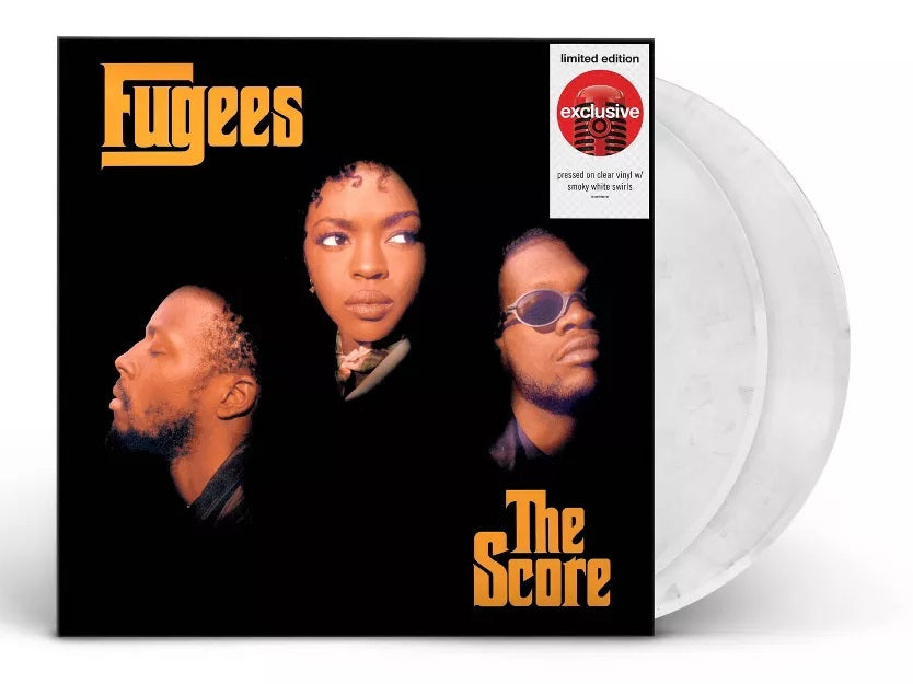 Fugees - The Score Exclusive Limited Edition Clear Vinyl With Smoky White Swirls