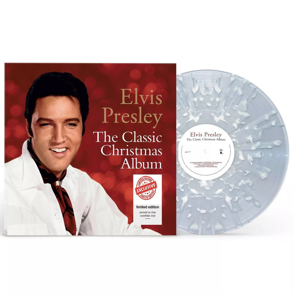 Elvis Presley The Classic Christmas Collection Exclusive Clear Snowfla Vinceron