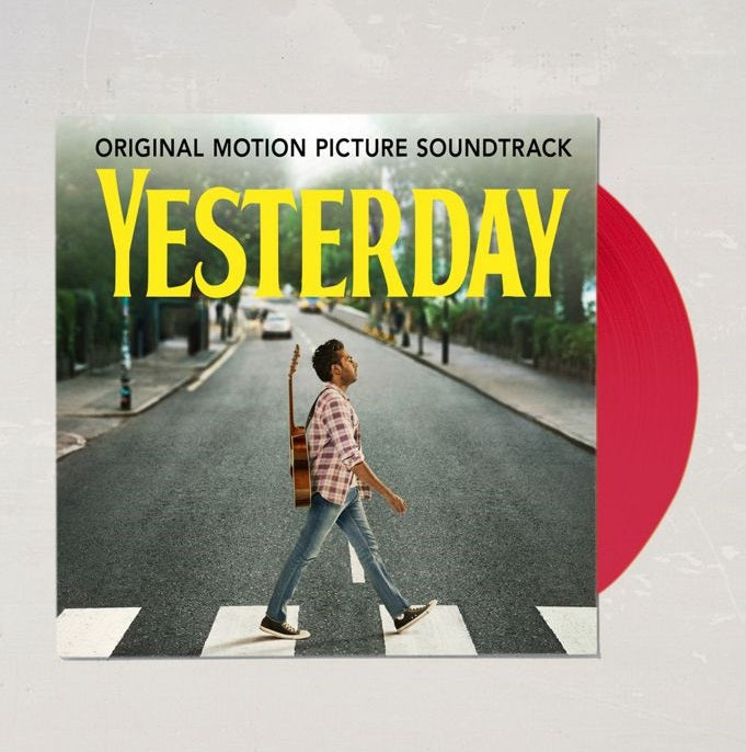 Himesh Patel - Yesterday (Original Movie Soundtrack) Exclusive Translucent Red 2x LP Vinyl