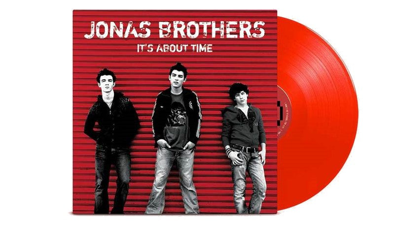 It's About Time - Exclusive Jonas Brothers Vinyl Club Deluxe Edition Red Colored Vinyl LP [LP_Record]