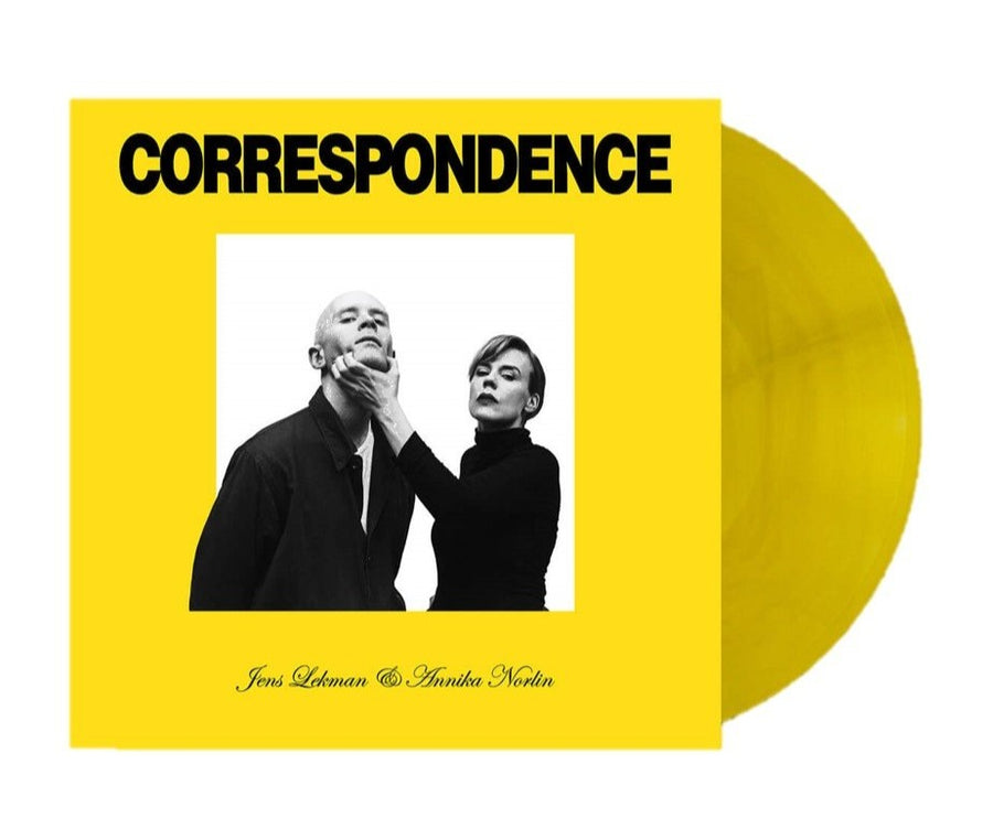 Jens Lekman & Annika Norlin - Correspondence Exclusive Translucent Yellow 2Xlp Vinyl [Club Edition]