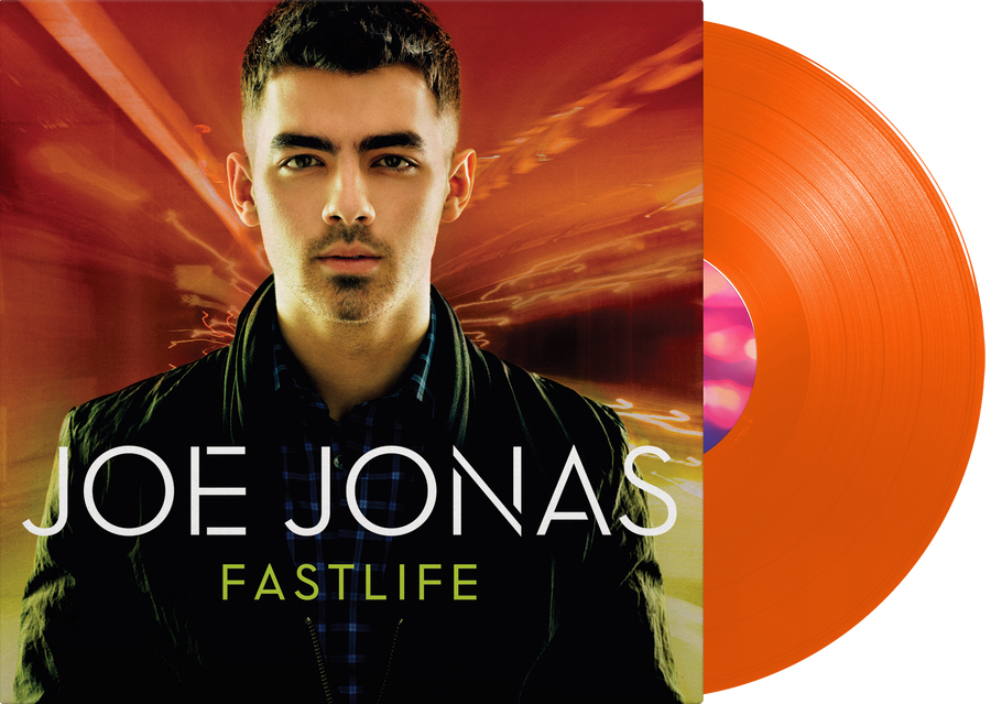 Joe Jonas - Fastlife Exclusive Orange Vinyl Limited Edition