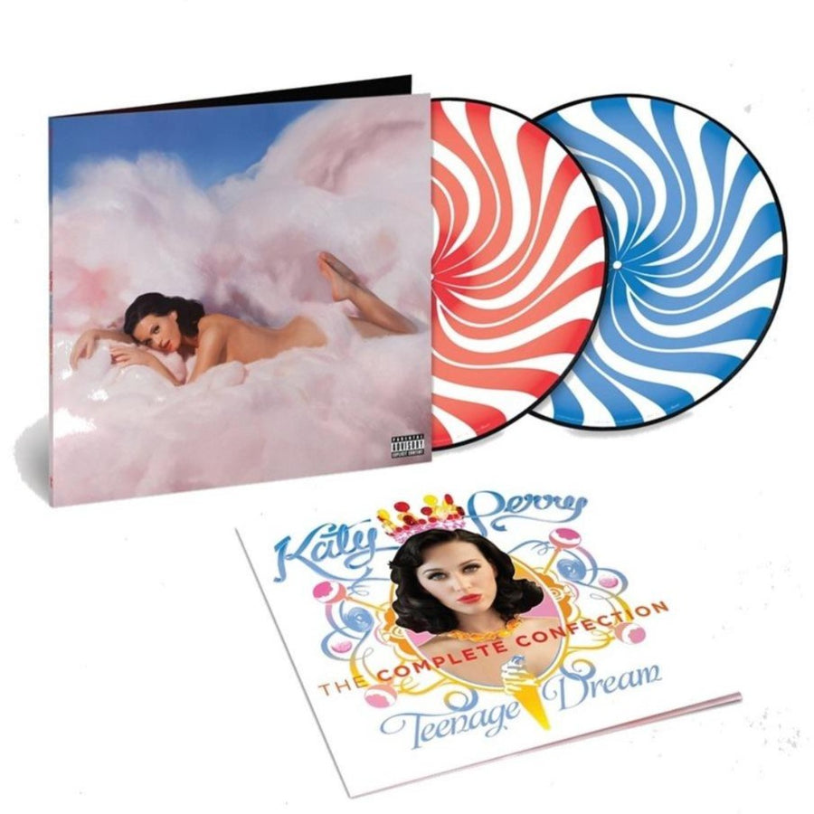 Katy Perry - Teenage Dream: The Complete Confection Exclusive Peppermint Swirl Picture Disc Vinyl Album #/5000