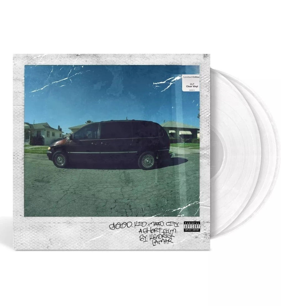 Kendrick Lamar - Good Kid, m.A.A.d city Limited Edition 2LP Exclusive Clear Vinyl