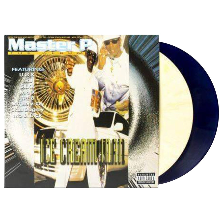 Master P - Ice Cream Man Limited Edition Cream & Dark Blue 2LP VInyl Album Album, Limited Edition