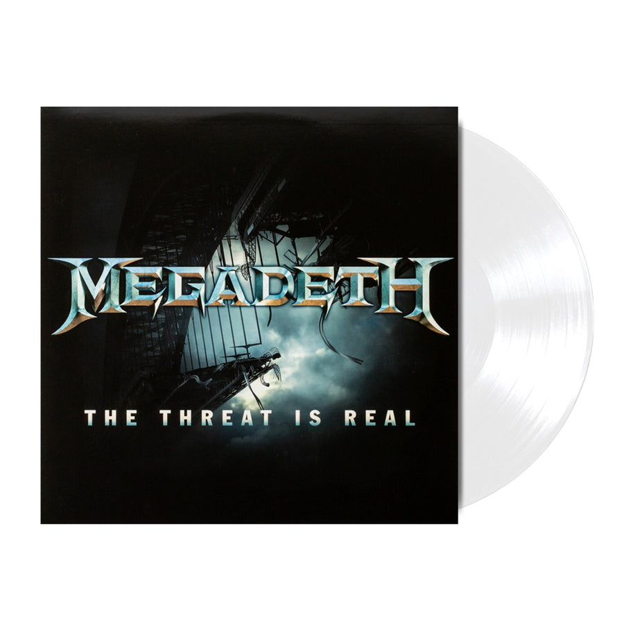 Megadeth - The Threat Is Real Limited Edition White Vinyl LP Record #/4000