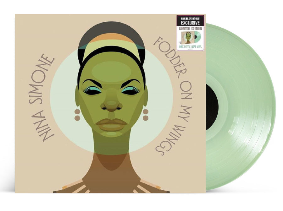 Nina Simone - Fodder on My Wings Exclusive Cock Botle Clear Vinyl Limited Edition