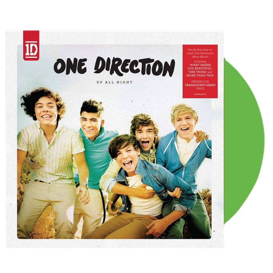 One Direction - Up All Night Exclusive Translucent Green Vinyl Limited LP Record