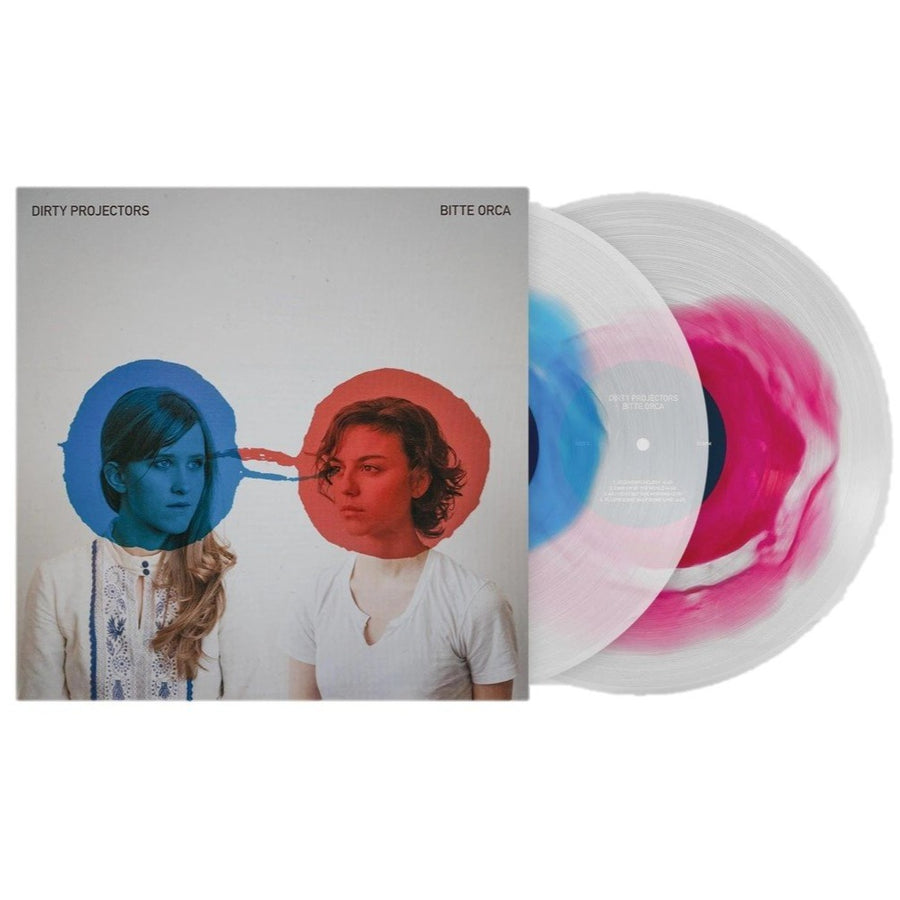 Dirty Projectors - Bitte Orca Exclusive Blue & Red W/ Clear Vinyl Club Edition 2XLP