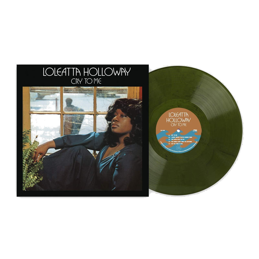 Loleatta Holloway - Cry To Me Exclusive Forest Green With Black Marble Vinyl [Club Edition] LP Record