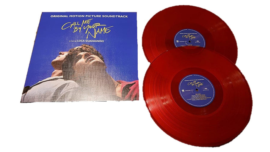 Call Me By Your Name Soundtrack Numbered Limited Edition 180g Import 2LP (Transparent Red Vinyl) [lp_record]