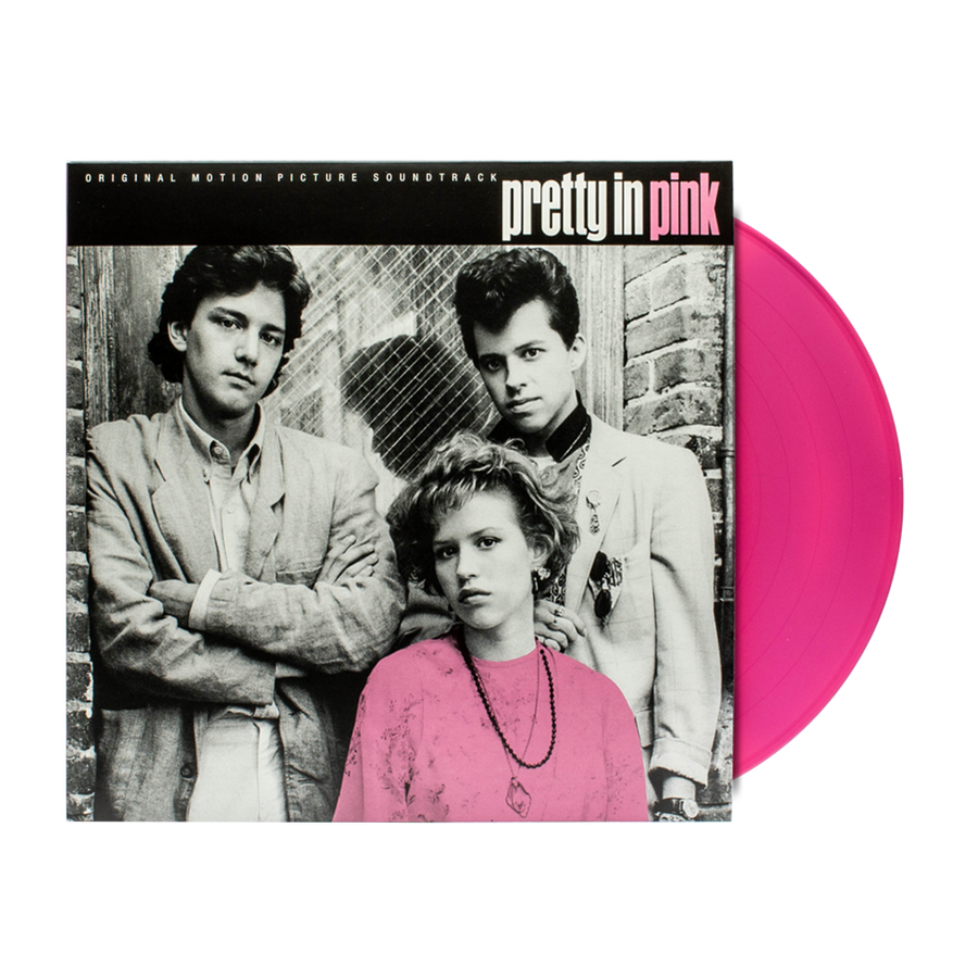 Various Artists - Pretty In Pink Soundtrack Exclusive Limited Edition Pink Vinyl [LP_Record]