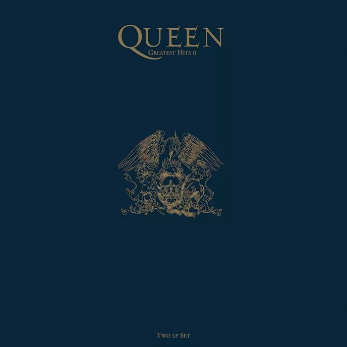 Queen - Greatest Hits 2 Exclusive Blue Colored Vinyl Album [LP_Record]