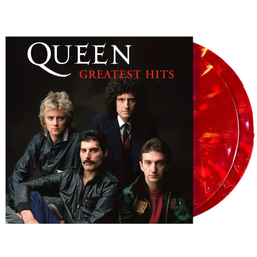 Queen - Greatest Hits Exclusive Ruby Blend Colored Vinyl Album LP_Record LP Record
