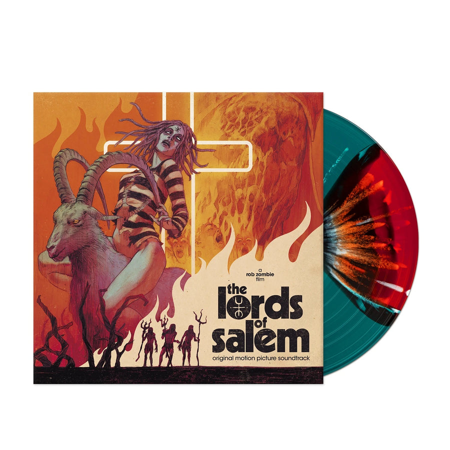 Rob Zombie - The Lords Of Salem Exclusive Limited Edition Satanic Rite Colored Vinyl LP Record