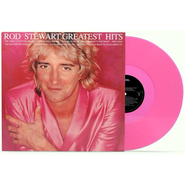 Rod Stewart ‎– Greatest Hits Vol. 1 Exclusive Pink Colored Vinyl LP_Record Album