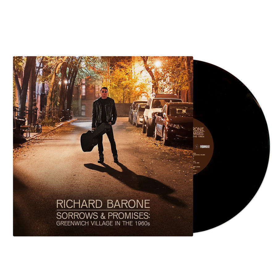 Richard Barone ‎– Sorrows & Promises Exclusive LP VInyl Album