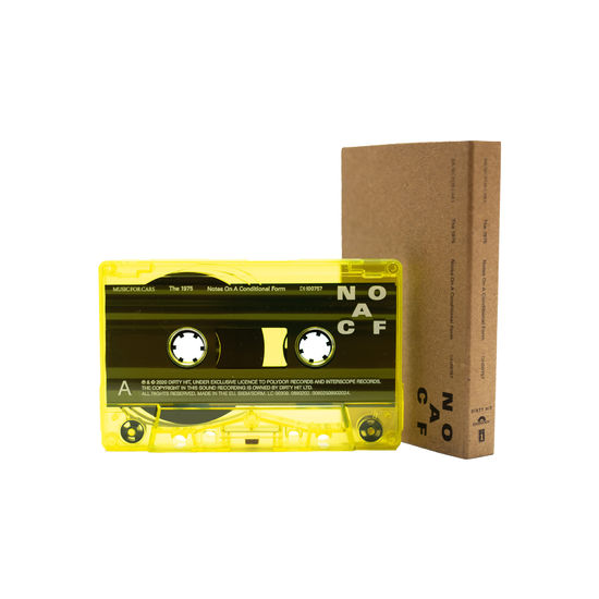 The 1975 - Notes On A Conditional Form Exclusive Neon Yellow Cassette Limited Edition