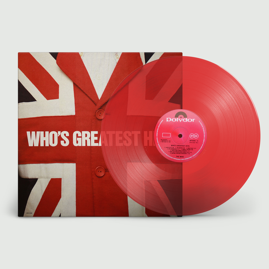 The Who - Greatest Hits Exclusive Red Colored Vinyl Album [LP_Record]