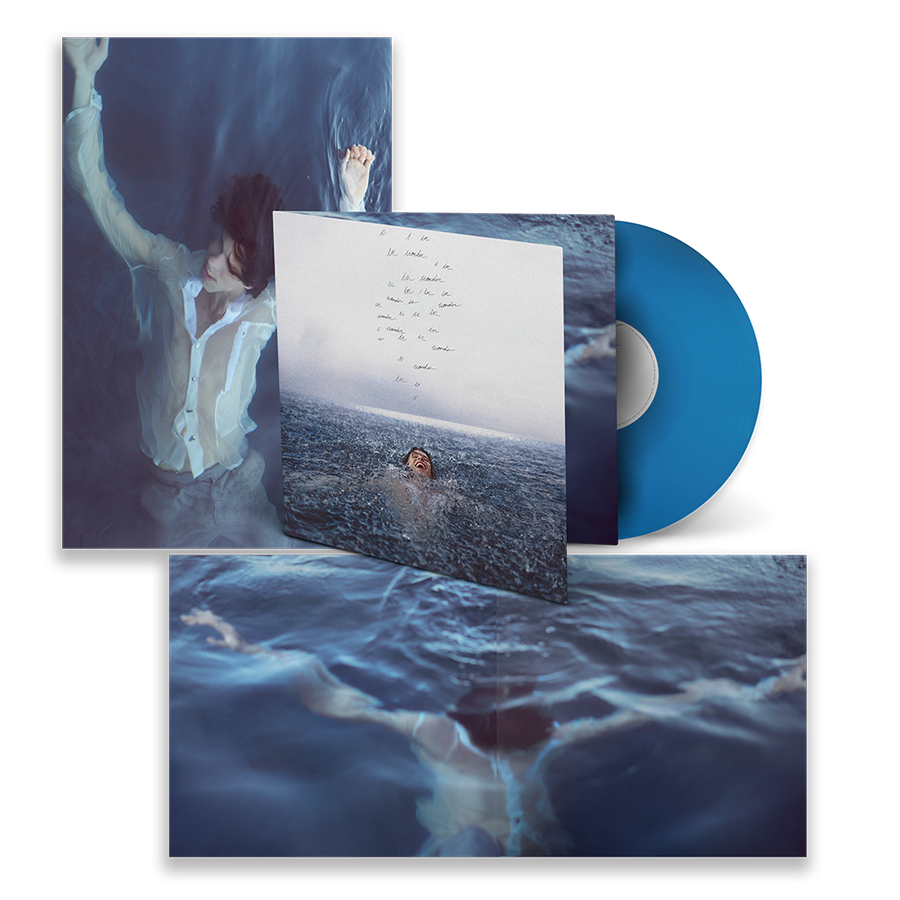 Shawn Mendes - Wonder Exclusive Blue Color Vinyl Album LP_Record Limited Edition Album