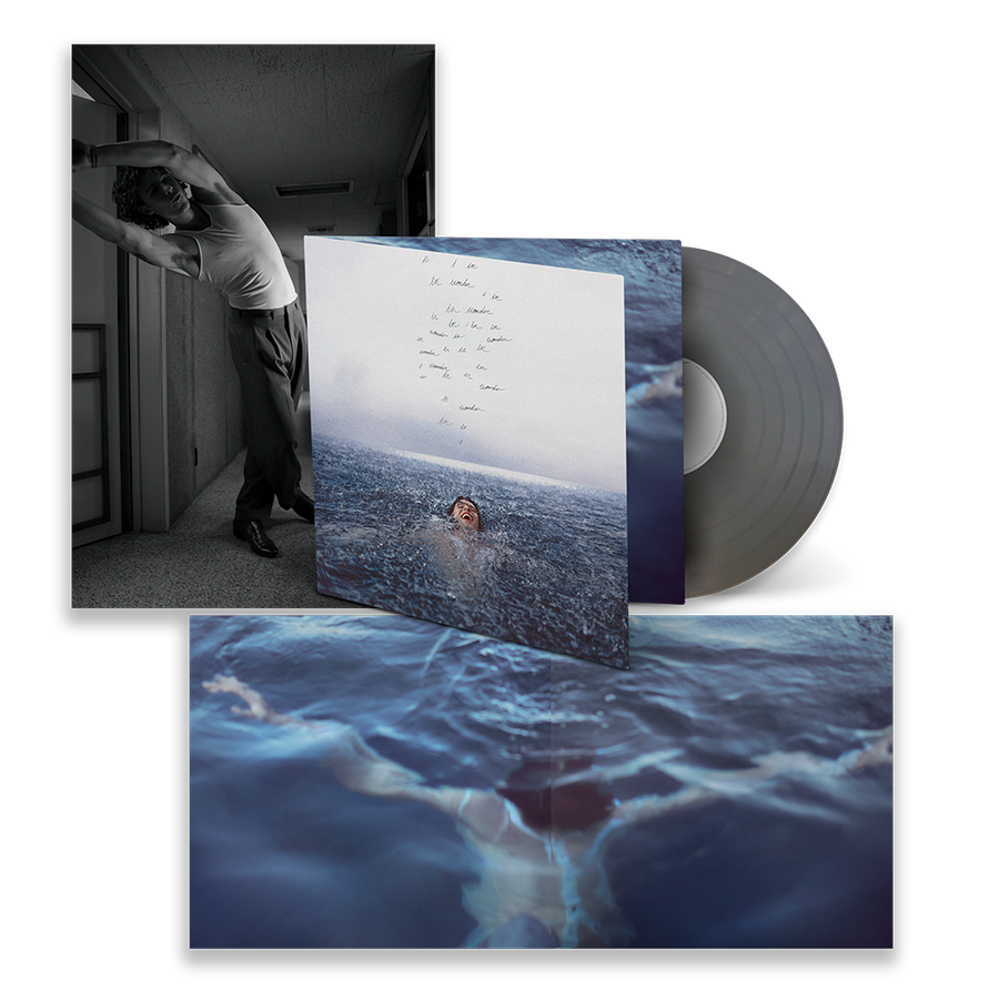 Shawn Mendes - Wonder Exclusive Silver Color Vinyl Album LP_Record Limited Edition Album