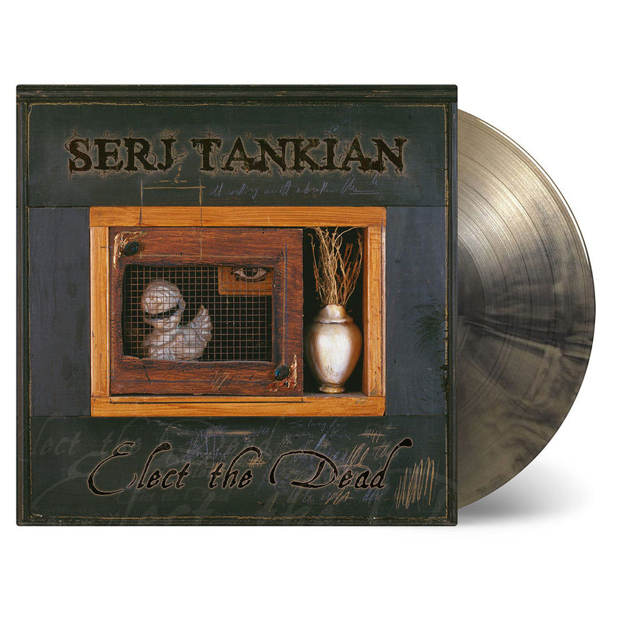 SERJ TANKIAN- Elect The Dead Limited Edition Gold Marbled Vinyl