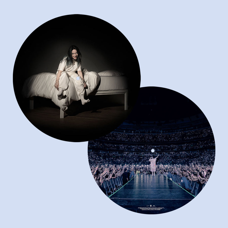 Billie Eilish - When We All Fall Asleep, Where Do We Go? Tour Edition Picture Disc Vinyl VG+NM