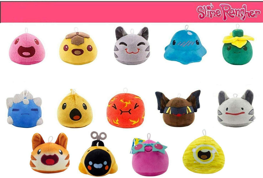 Slime Rancher- Plush Limited Edition Collectors Bundle Pack (14 Slimes Included)