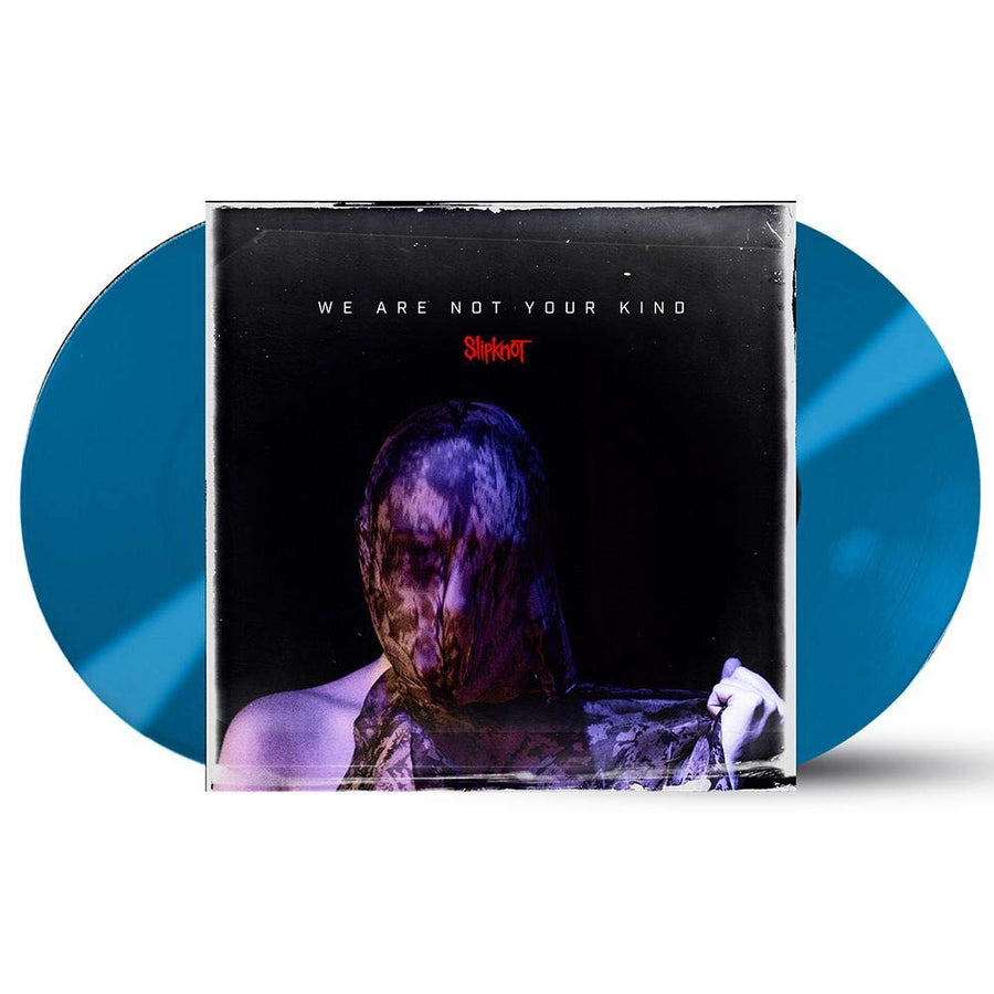 Slipknot - We Are Not Your Kind Exclusive Limited Edition Aqua Blue Colored 2x LP Vinyl [Condition-VG+NM]