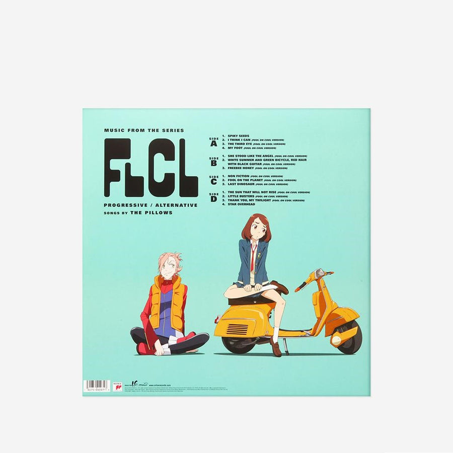 The Pillows - FLCL Progressive Alternative Exclusive Pirate King Splatter Vinyl [2LP_Record]