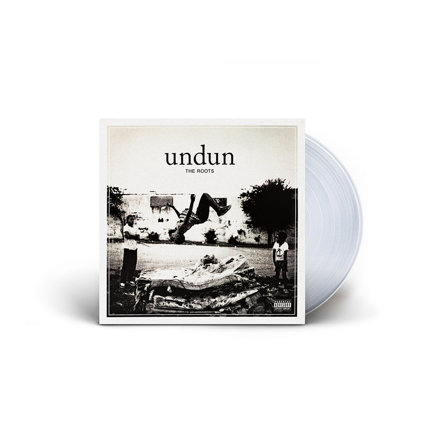 THE ROOTS- Undun Limited Edition Smoke Color Vinyl Album [LP_Record]