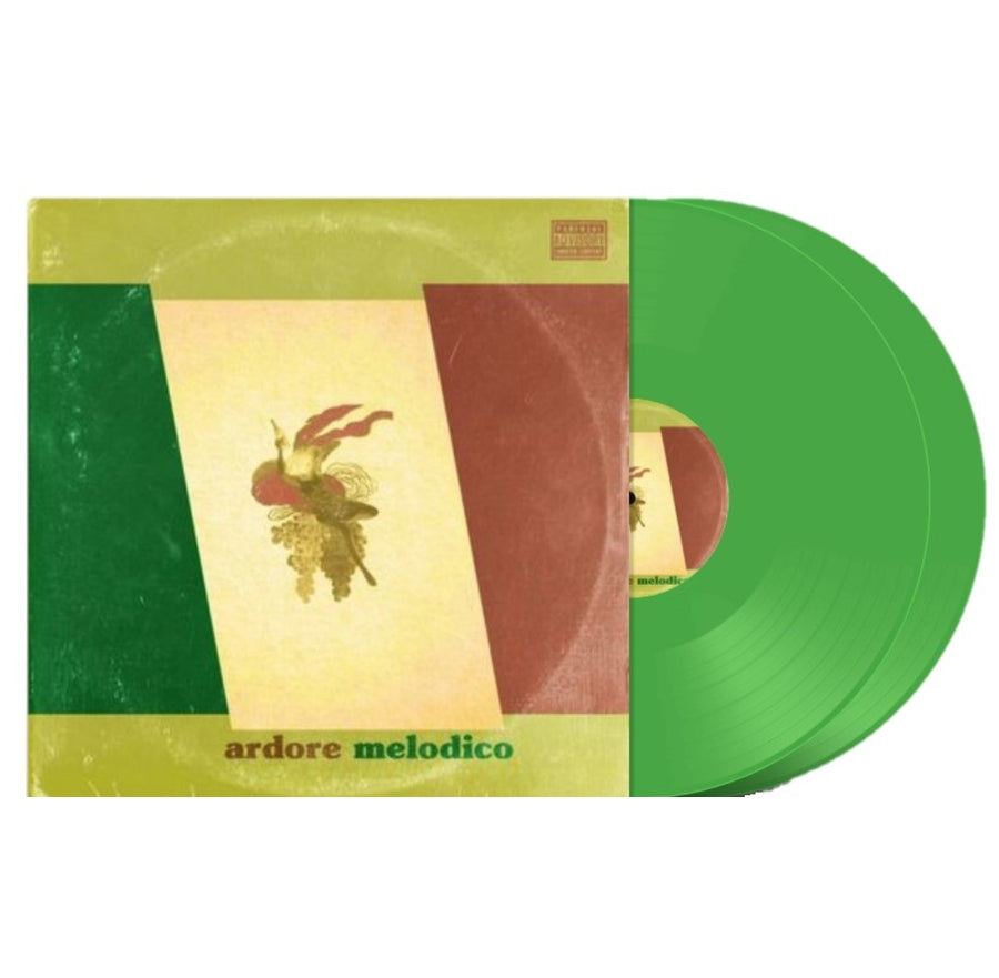 Tone Spliff - Ardore Melodico Exclusive Green 2LP Vinyl Album Limited Edition Record # 300