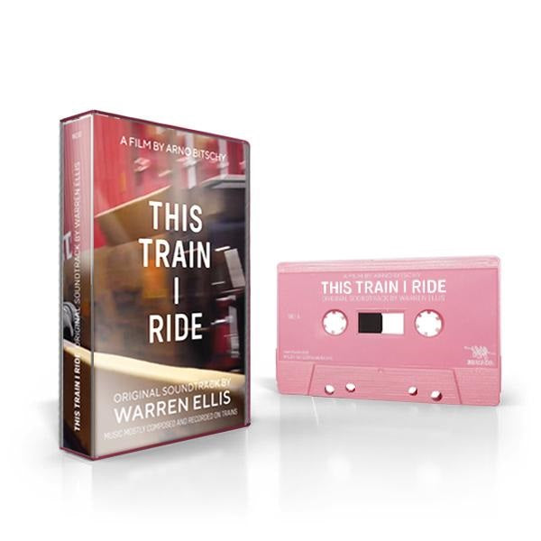 Warren Ellis - This Train I Ride Limited Edition Pink Color Cassette