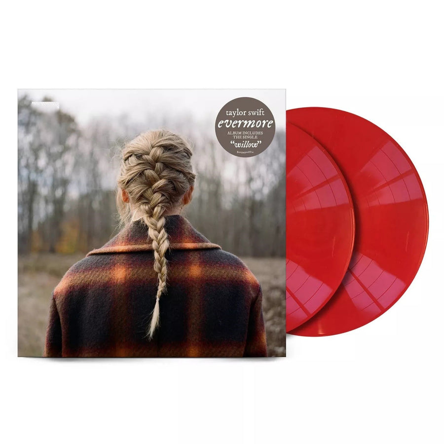 Taylor Swift - Evermore Exclusive Red 2LP Vinyl Record Limited Edition