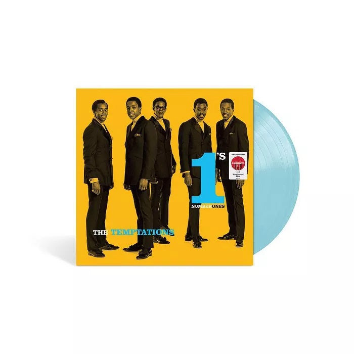 Temptations - Number 1's limited edition exclusive translucent blue vinyl