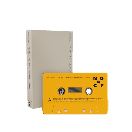 The 1975 - Notes On A Conditional Form Exclusive Recycled Plastic Cassette Limited Edition