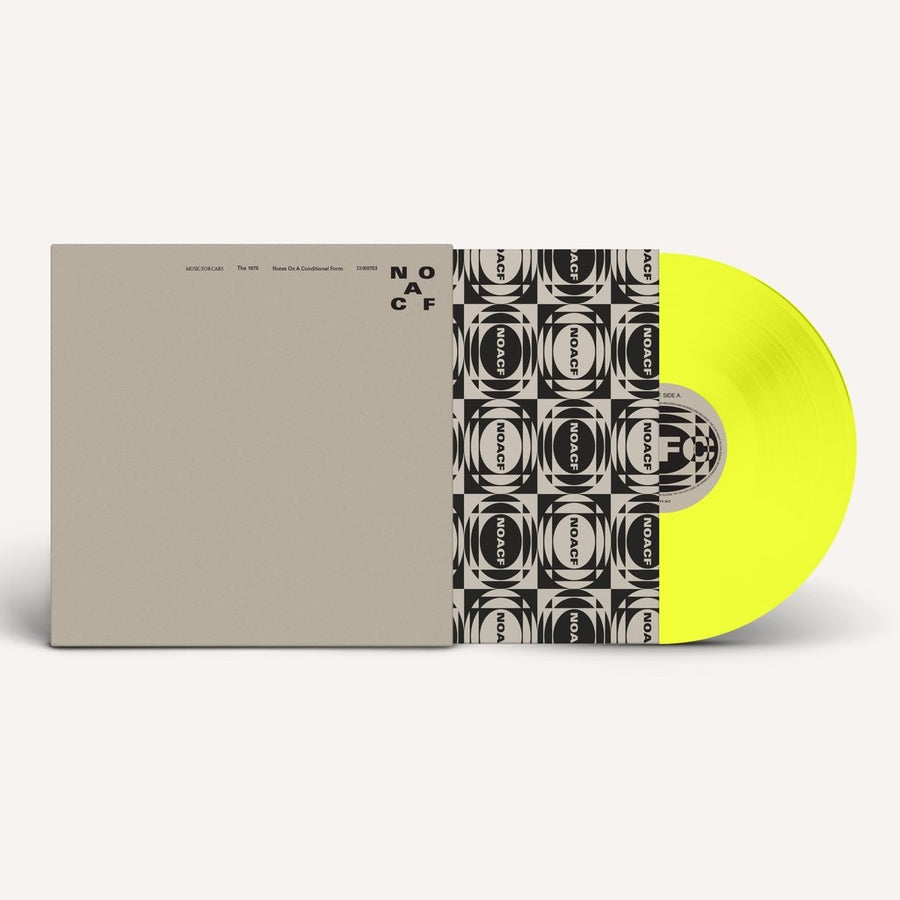 The 1975 - Notes On A Conditional Form Limited edition Yellow coloured vinyl 2LP
