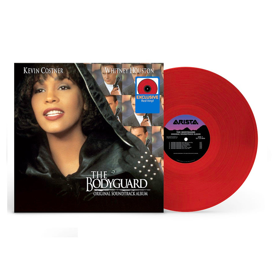 The Bodyguard (Original Soundtrack) Exclusive Red Colored Vinyl Album LP_Record Whitney Houston, Various Artist Kenny G (2) & Aaron Neville, Lisa Stansfield, The S.O.U.L. S.Y.S.T.E.M, Curtis Stigers, Alan Silvestri,Joe Cocker Featuring Sass Jordan