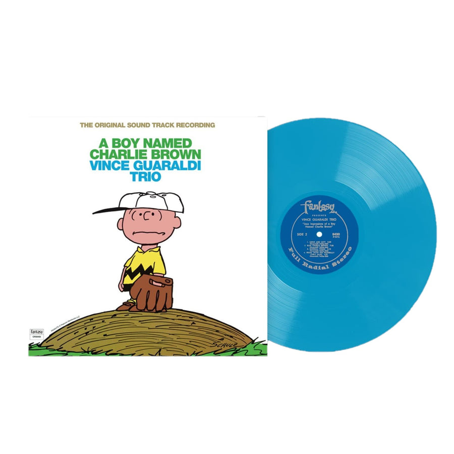 Vince Guaraldi Trio - A Boy Named Charlie Brown OSt Sky Blue LP Vinyl Limited Club Edition Record
