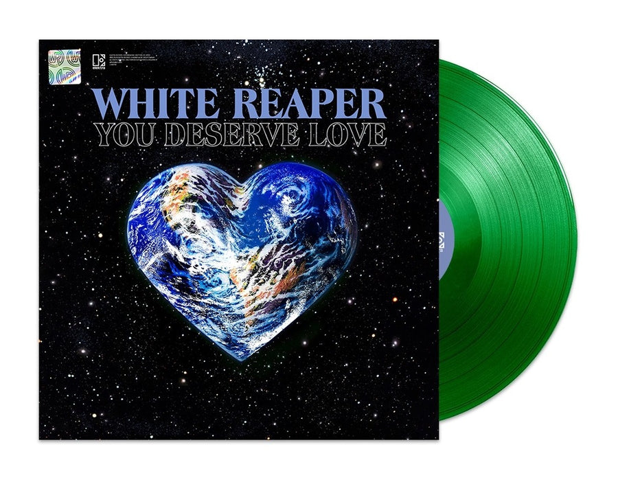 White Reaper ‎– You Deserve Love Limited Edition Neon Green Vinyl [LP_Record] Album Vinyl, LP, Album, Limited Edition, Green [Neon Green]