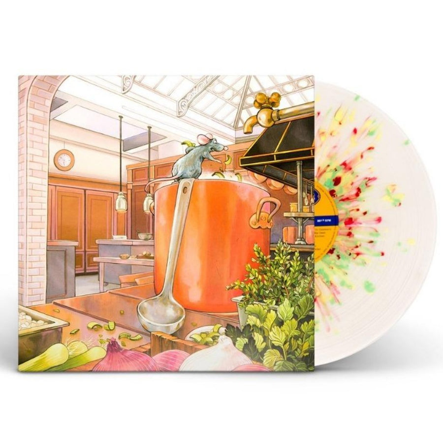 Michael Giacchino ‎– Ratatouille (Original Motion Picture Soundtrack) 2LP Yellow and Red Swirl Vinyl Record
