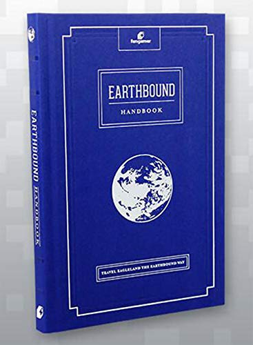 Travel Eagleland the EarthBound Way Guide Hardcover Handbook